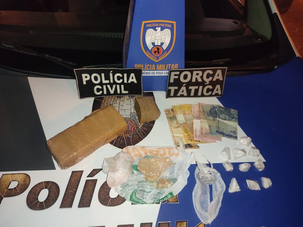 Sete pessoas são detidas durante Operação Integrada II em Pinheiros, Montanha e Nova Venécia 1